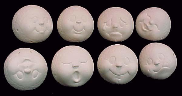 Ceramic Molds Nativity Sets Vintage 16 Pieces Ceramic